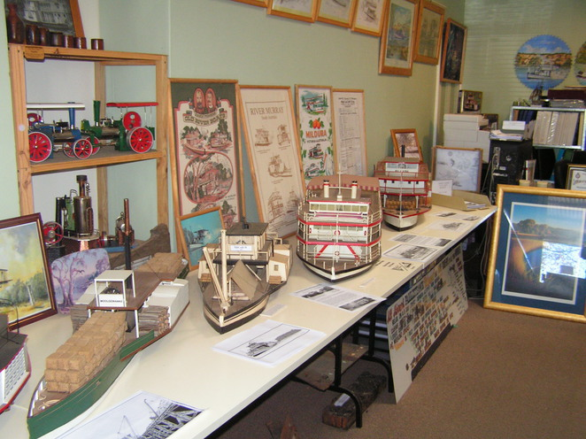 riverboat, paddlesteamer, Wentworth, models
