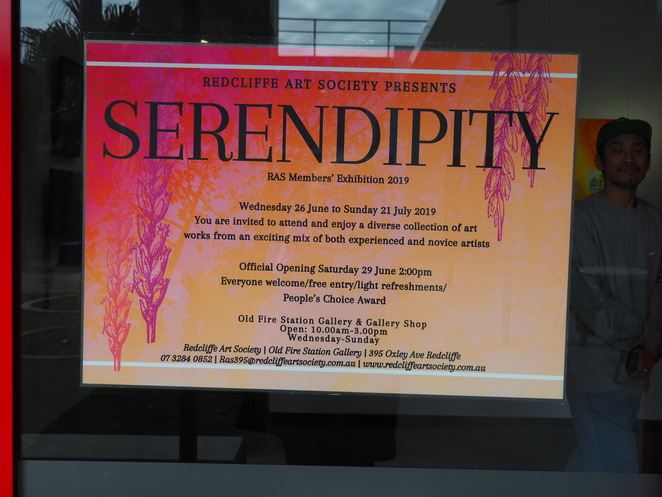 Serendipity, Fire Station Art Gallery, Redcliffe Art Society, Margate