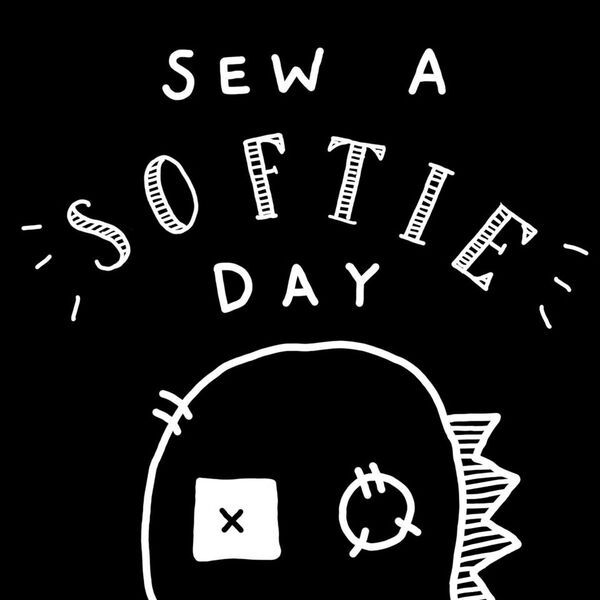 Sew A Softie Day Trixi Symonds hand sewing