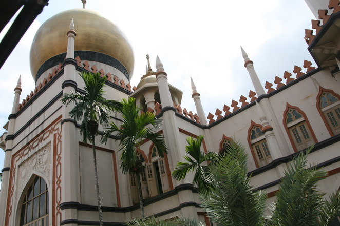Sights of Singapore mosque