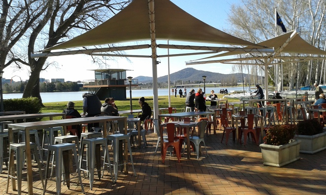 Snapper on the Lake, Fish and Chips, Canberra, Lake Burley Griffin