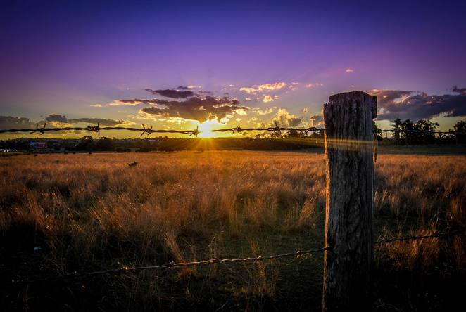 Sunset, Lockyer Valley, Darling Downs, Toowoomba, Gatton, farming, produce,