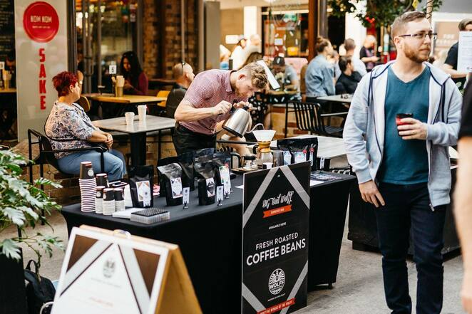 the lanes coffee festival 2019, community event, fun things to do, coffee lovers, cafe scene, winn lane, the new black, the black lab coffee, california lane on bruswick, my bakery lane, themonday, coffee event, family fun, the brew in brisbane