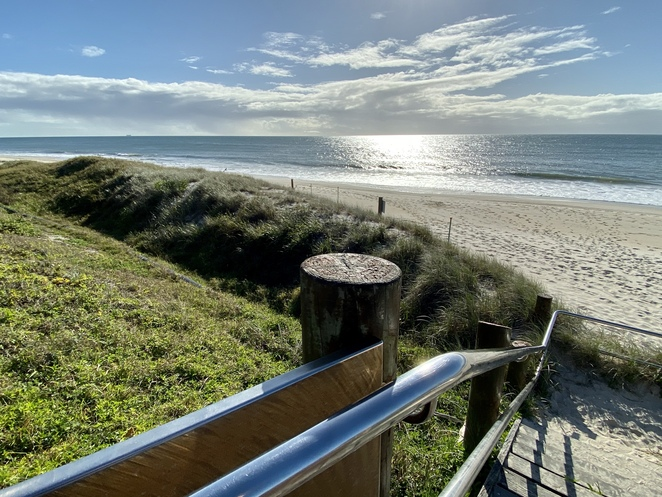 Bluey Piva Park overlooking Woorim Surf Beach has all the facilities needed for a great day out at the beach
