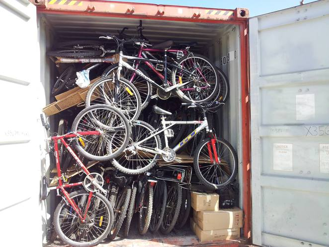 Bicycles for Humanity are an organisation that collects pre-loved bikes