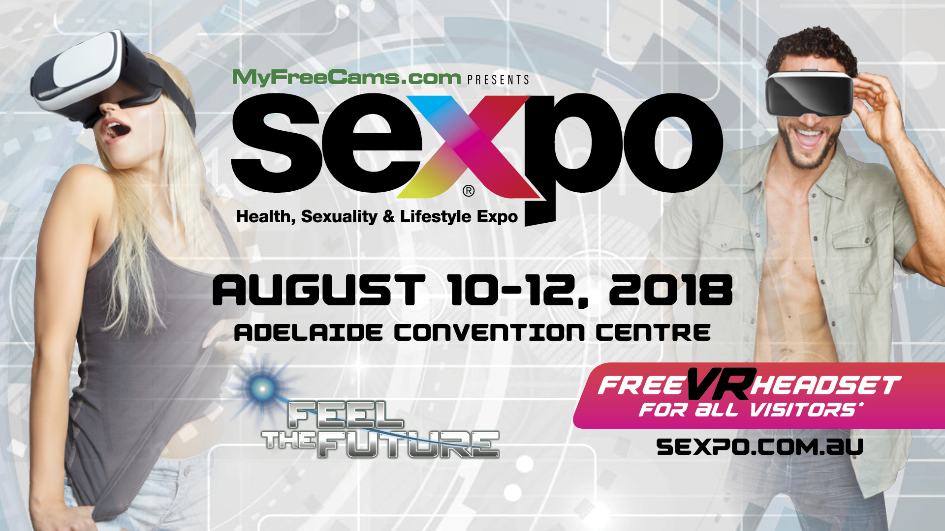 SEXPO Adelaide 2018 will provide a glimpse into the future of the adult  industry - every SEXPO visitor will receive a free VR headset* (please  visit ...