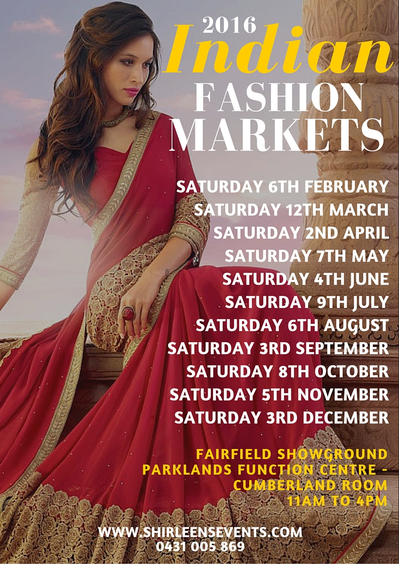 Indian Fashion Markets Sydney 2016 - Sydney
