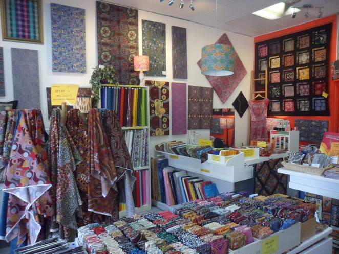 Aboriginal Fabric Gallery, fabric, patchwork, artists
