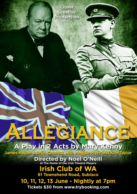 Allegiance by Mary Kenny, The Irish Theatre Players