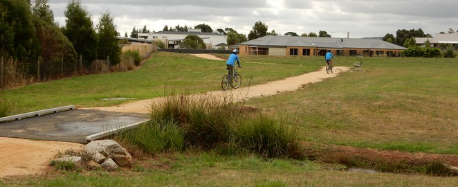 Aranmore Lake, Crawley Road, Narre Warren North, Bike Riding