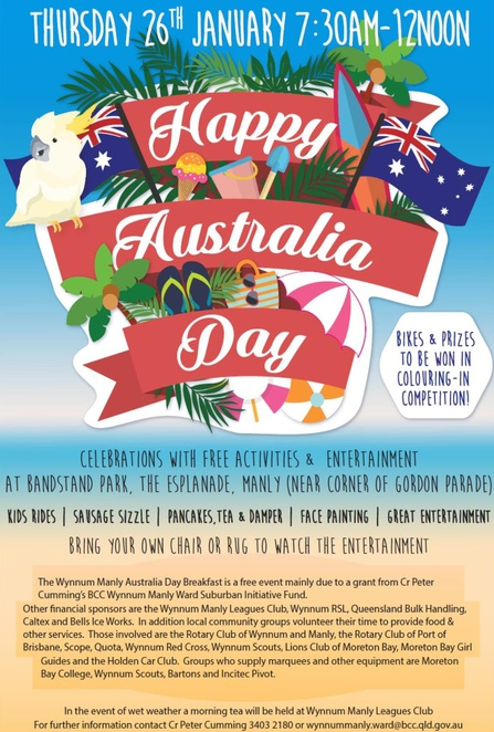 Australia Day at Wynnum