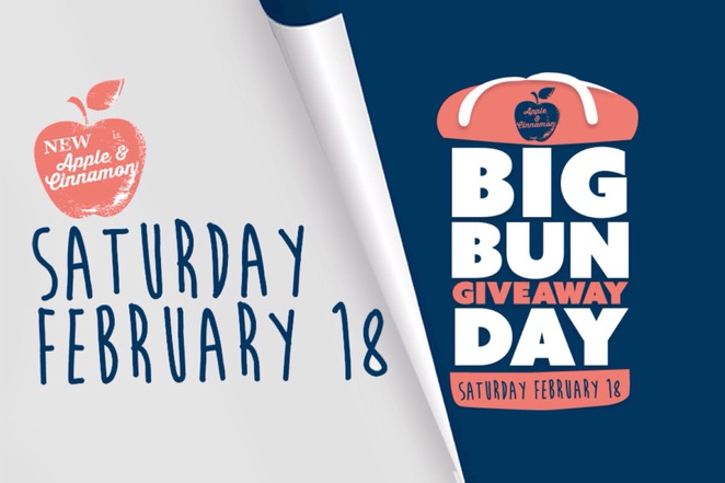 Bakers Delight Big Bun Giveaway Day