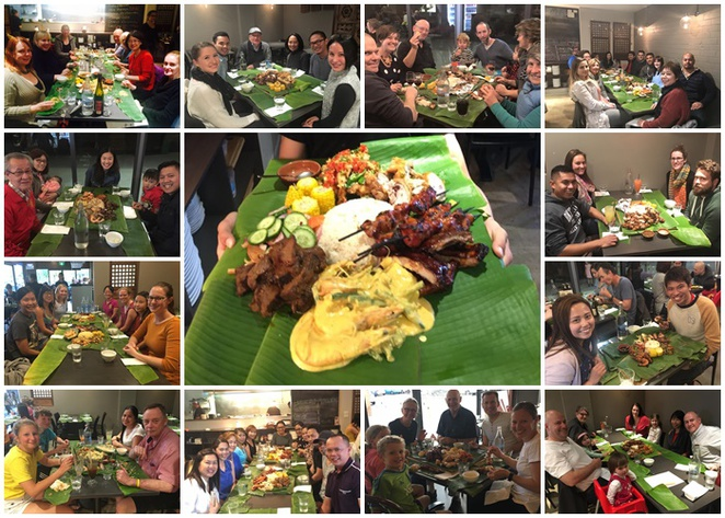 boodle feast, canberra, ACT, kusina, phillipines, filipino, dinner,