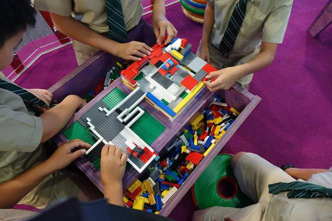 Brick By Brick exhibition, national capital exhibition, september october school holidays 2015, canberra