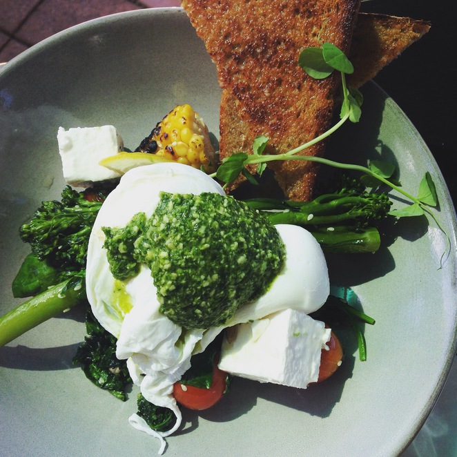 cafe, pottsville, coffee, breakfast, brunch, breakfast salad, healthy