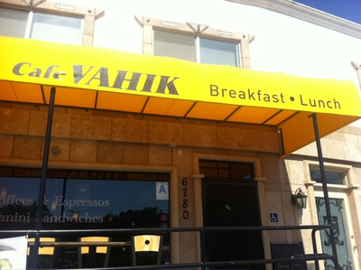 Cafe Vahik Windansea coffee La Jolla