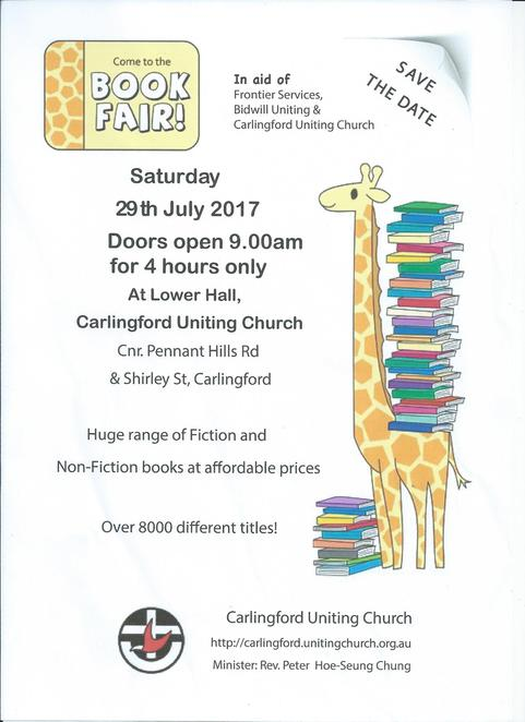 Carlingford Uniting Church book fair