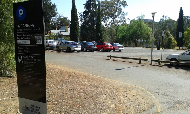 carpark, ANU, Old Canberra House, Ivy and the Fox, Canberra, cafes,