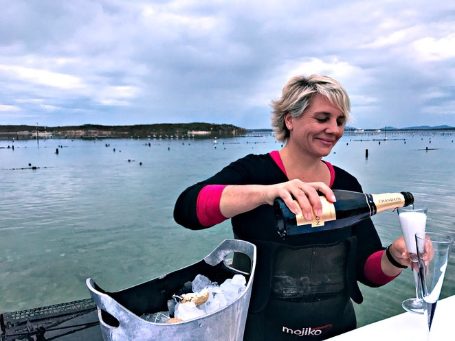 Champagne,Coffin Bay, Oysters, Tours, Oyster Farm