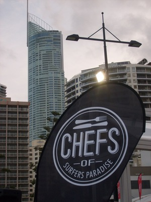Chefs of Surfers Paradise live coking demo