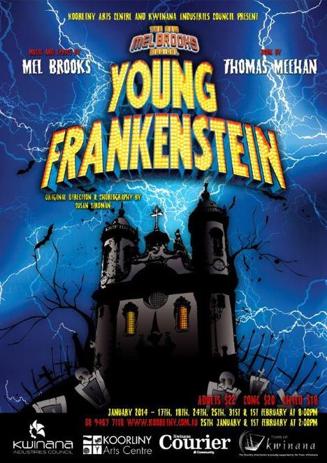 community theatre, musical theatre, theatre, Young Frankenstein, comedy