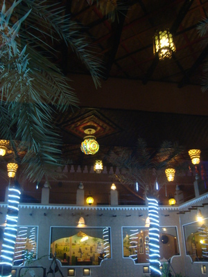 courtyard, rawazin, khobar, restaurant, decor