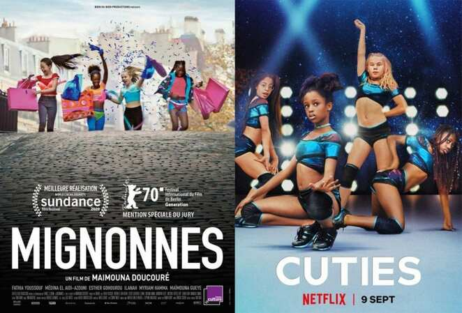 Cuties (2020), Cuties, Mignonnes, The Cuties, French, France, French Film, French Movie, French Cinema, Subtitles, Dubs, Fathia Youssouf, Amy, Immigrant, Girls, Dance, Dancer, Dance Movie, Netflix, Controversy, Controversial, Teens, Tweens, Teenager, Tweenager, Coming of age, Mother, Siblings, Maïmouna Gueye, Ismaël, Demba Diaw, Auntie, Mbissine Thérèse Diop, Angelica, Médina El Aidi-Azouni, Coumba, Esther Gohourou, Jess, Ilanah Cami-Goursolas, Yasmine, Myriam Hamma, Instagram, Sundance, Maïmouna Doucouré, Peer Pressure, Social Media, Music Videos, Modern Technology, Internet