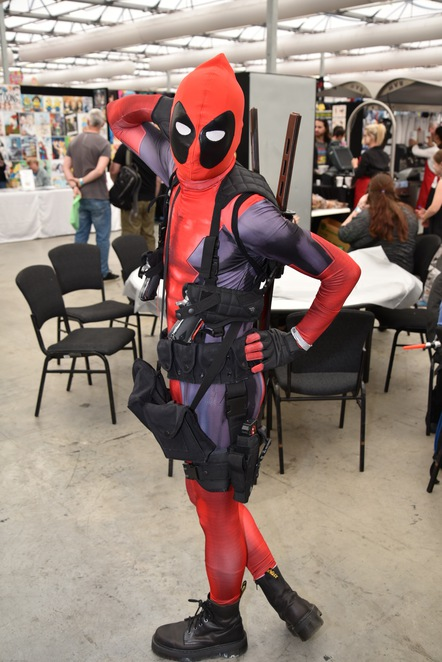 Deadpool, Oz Comic Con Brisbane 2016, Marvel, Comic, Comic Con, Things to do