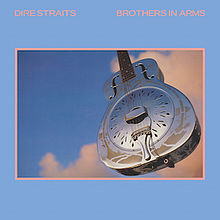 dire straits, brothers in arms, album, cover