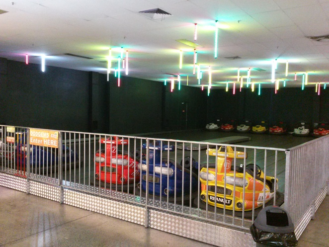 dodgem cars, iPlay, Belconnen, ACT
