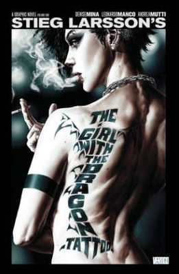dragon tattoo, the girl with the dragon tattoo, graphic novel, comic, steig larsson