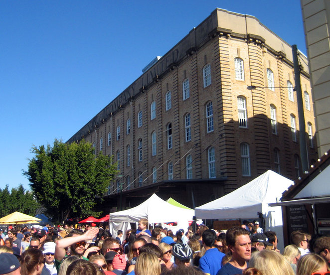 Teneriffe Festival is one of many great evens every year in Brisbane