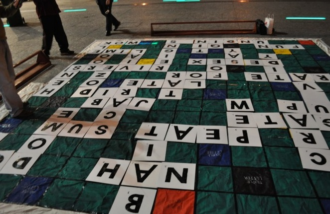 Games Night, Boardgames, Free, King George Square, CBD, Scrabble, Giant