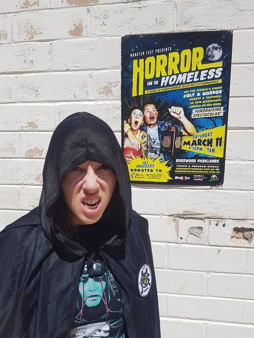 Horror for the homeless, competition, win, photo competition, selfie, selfie competition, homeless, Youth Futures, Charity, Charity Event, Horror, Movies, Films, Movie Marathon, Film Festival, Outdoor Cinema, Burswood, Perth, Western Australia, WA, Win Big