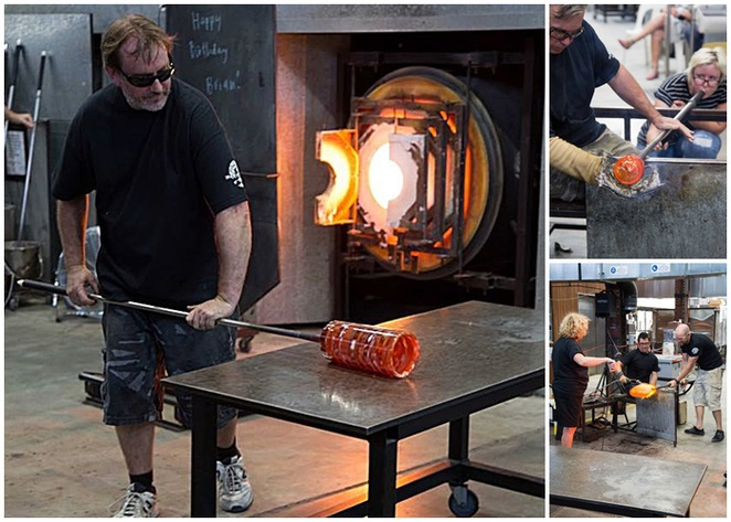 hot shop, canberra glassworks, ACT, tourist attractions, glass art, exhibitions, free entry, kingston foreshore
