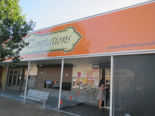 Indian Temptations, Adelaide