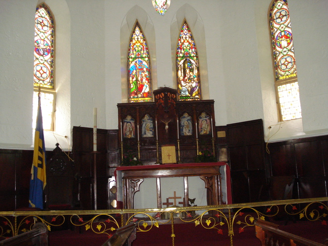 inside st john's church