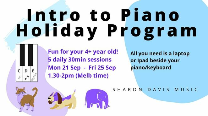 intro to piano holiday program, sharon davis music, holiday piano program, piano teaching method, keynots, community event, fun for kids, learn something new, song and music, music workbook, muisic online, piano for kids online, piano lessons