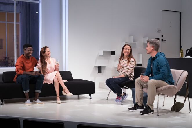 L'Appartement, joanna murray-smith, queensland theatre, weekend notes, theatre review