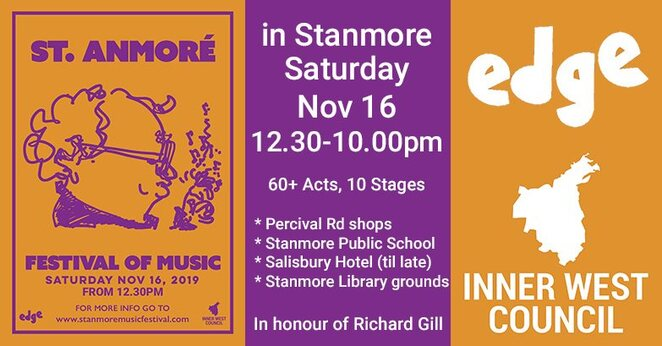 Music, Music Venues, Community Events, Festivals, Free, Near Sydney, New South Wales, Stanmore