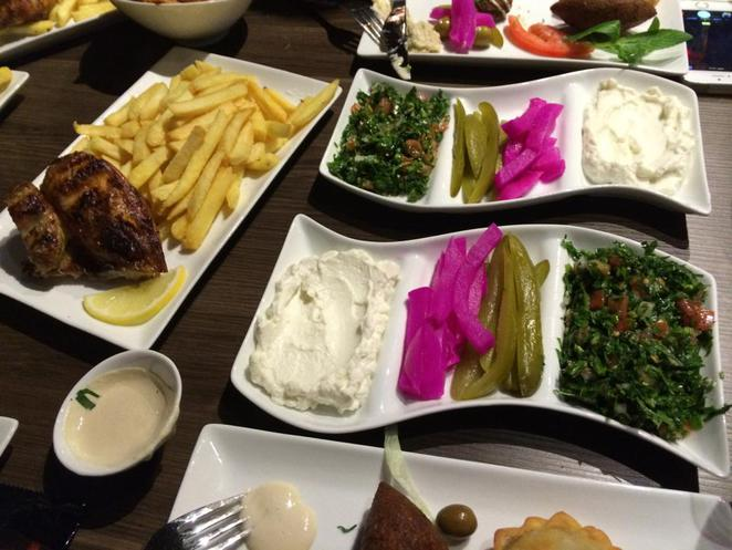nara lounge, hurstville, lebanese, arabian, middle east, restaurant, food, main, chicken, chips, charcoal, tabouli, pickle, tahini, garlic