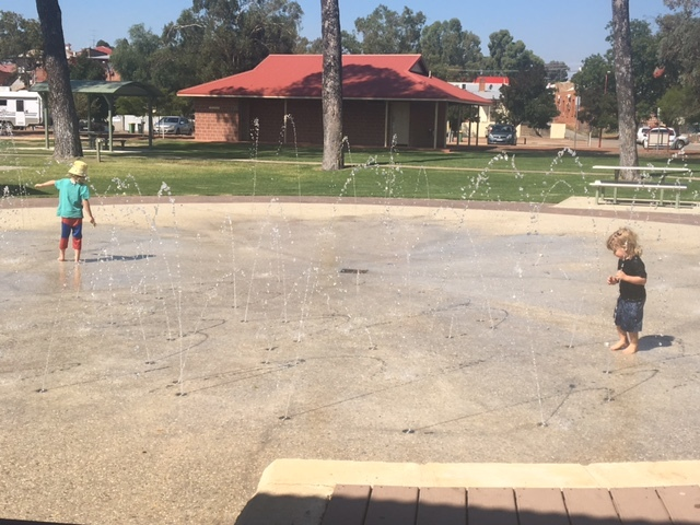 Northam, parks, water play, public toilets, tourists