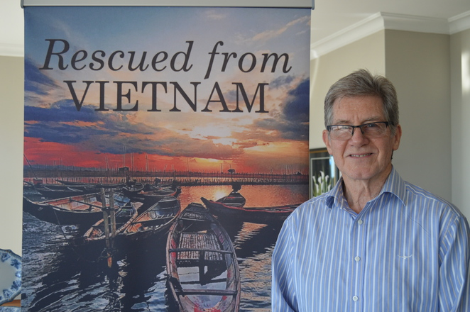 PTSD, michael hosking, rescued from vietnam, manna heights bed and breakfast