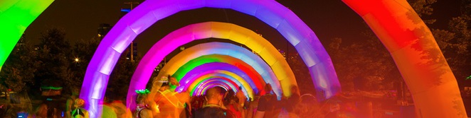 Rainbow Rd Electric Run