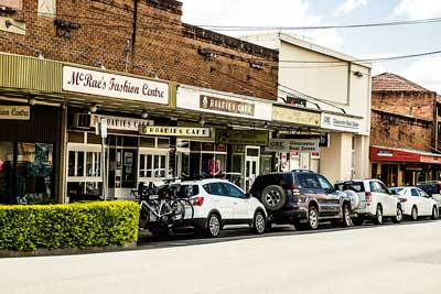 Roadies Cafe, Gloucester, NSW, country Town