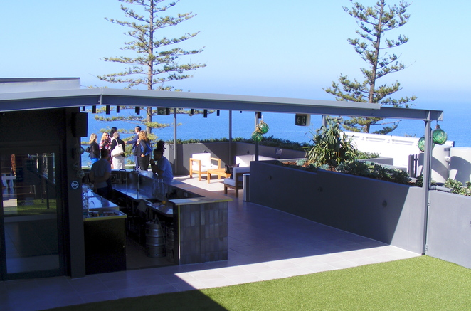 The rooftop at the Sebel Margate can be booked for events