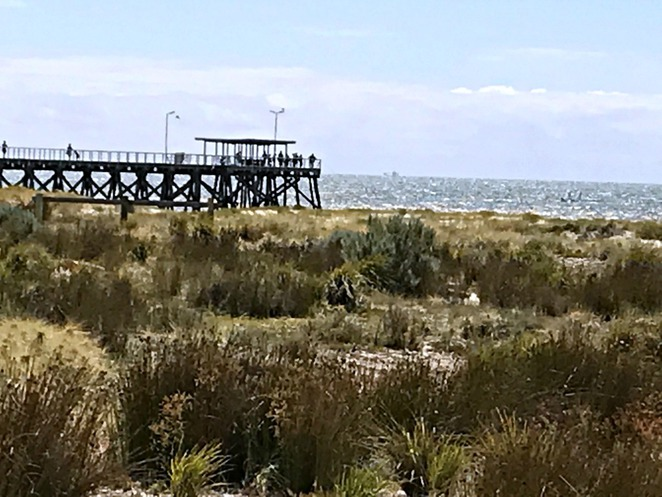 Semaphore, Outer Harbour, Largs Bay, Jetty, Train, Walk