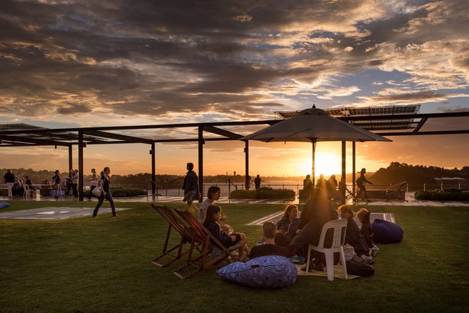 spring sounds on the platform, community event, fun things to do, fun event, family fun, music event, rooftop garden, north sydney council, coal loader centre for sustainability waverton, music, bands, live music, fun activities, performing arts, family friendly