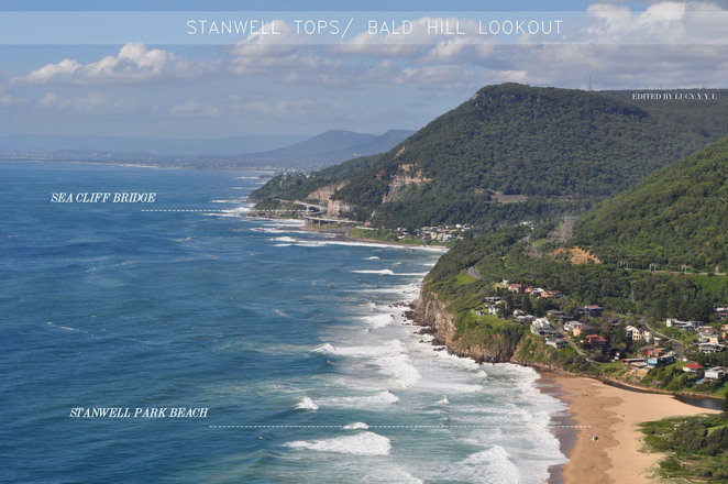 stanwell tops, bald hill lookout