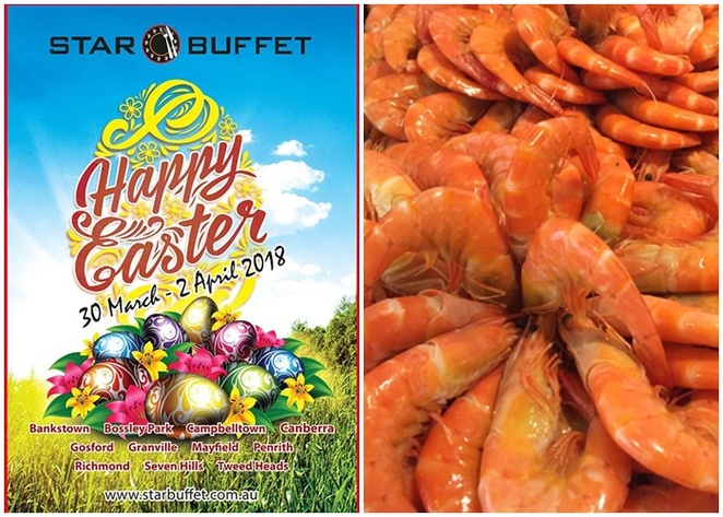 star buffet, kambah, canberra, easter friday, good friday, seafood buffets, ACT, burns club, whats on,
